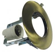 Χωνευτό στρογγυλό μεταλλικό σποτ R63 μπρονζέ χρώμα AC.045R63GAB